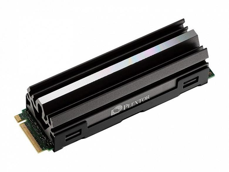 Твердотельные накопители Plextor M10P оснащены интерфейсом PCIe 4.0