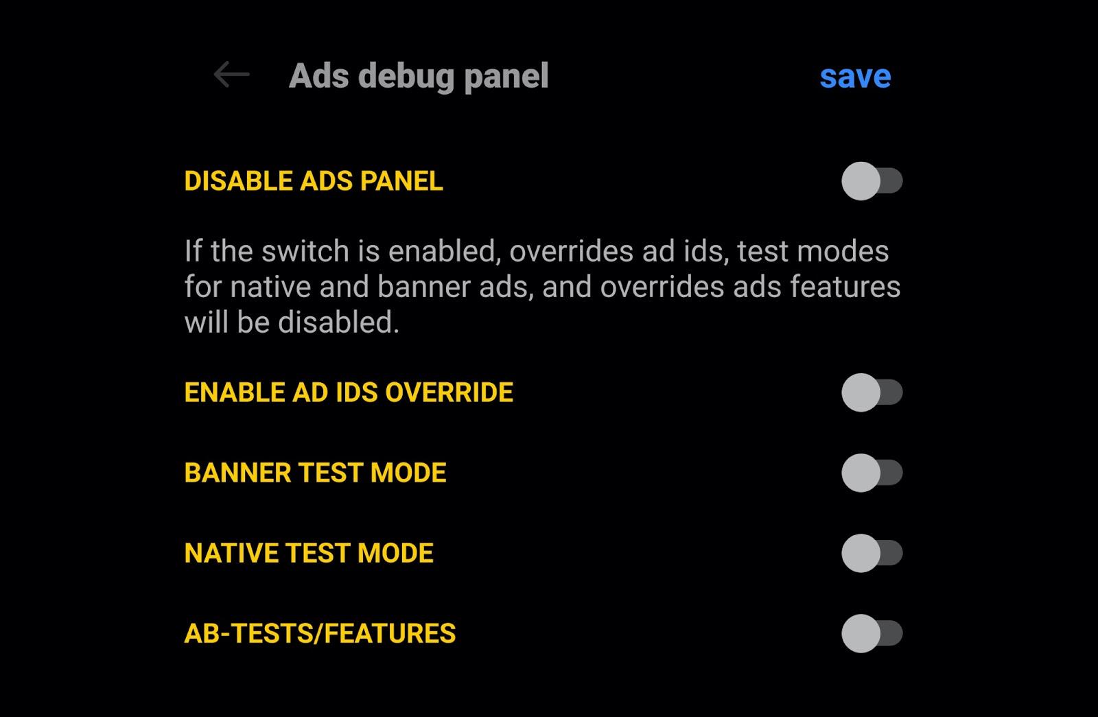 Гайд по тестированию рекламы для мобильных приложений - 2