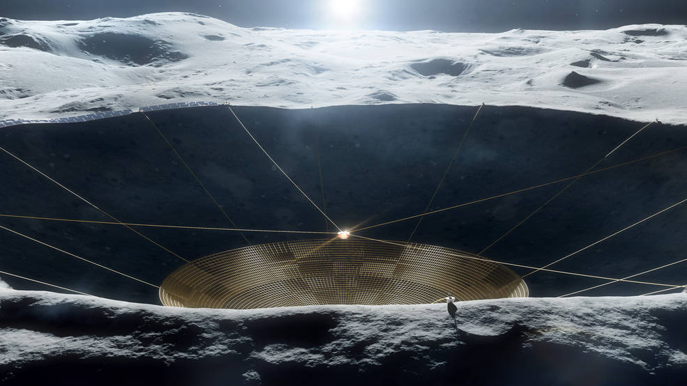 Радиотелескоп на обратной стороне Луны: зачем он там нужен и чем поможет науке - 1