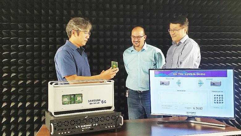 Такая вот Санта-Барбара: Samsung продемонстрировала прототип 6G — до 6,2 Гбит/с