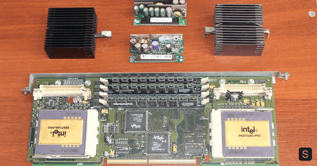 Cubique reloaded. Обзор сервера HP NetServer LH Pro - 15