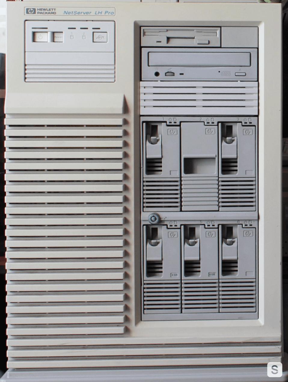 Cubique reloaded. Обзор сервера HP NetServer LH Pro - 20