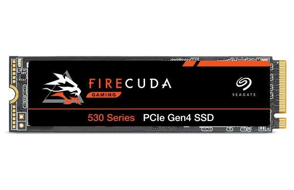Твердотельный накопитель Seagate FireCuda 530 оснащен интерфейсом PCIe Gen4