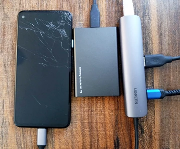 Превращаем старый телефон на Android в резервный сервер с помощью UrBackup-Linux Deploy. Часть 1 - 1
