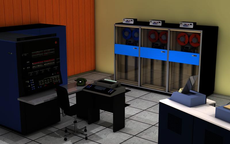 Краткая история появления серверов: от мейнфреймов — к современности - 1
