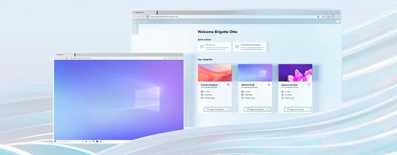 Microsoft представила облачный Windows, который можно запустить на Mac, iPad и многих других устройствах