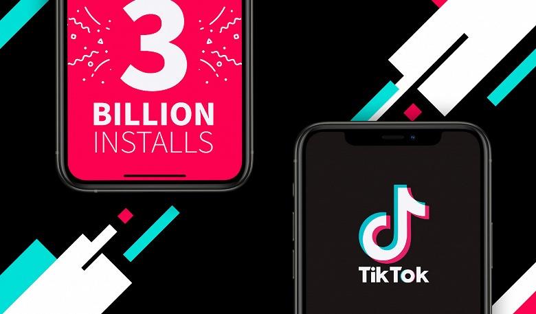 Первым в истории приложением, не принадлежащим Facebook, с 3 млрд загрузок стало TikTok