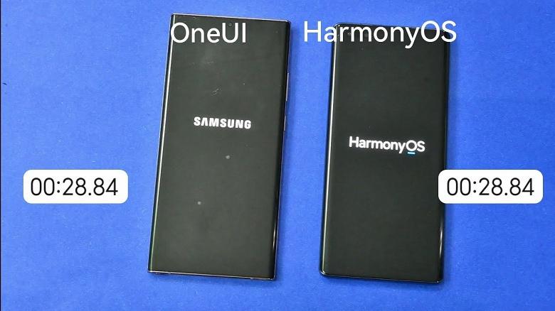 Samsung против Huawei: One UI 3.1 и HarmonyOS 2.0 сравнили по скорости загрузки