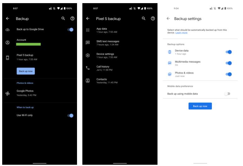 Google запустила универсальное и функциюнальное решение резервного копирования для Android