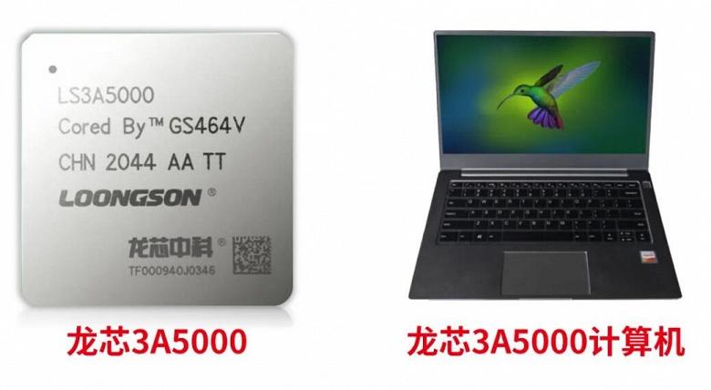 Китайский процессор, способный тягаться с первыми Ryzen. Представлен CPU Loongson 3A5000