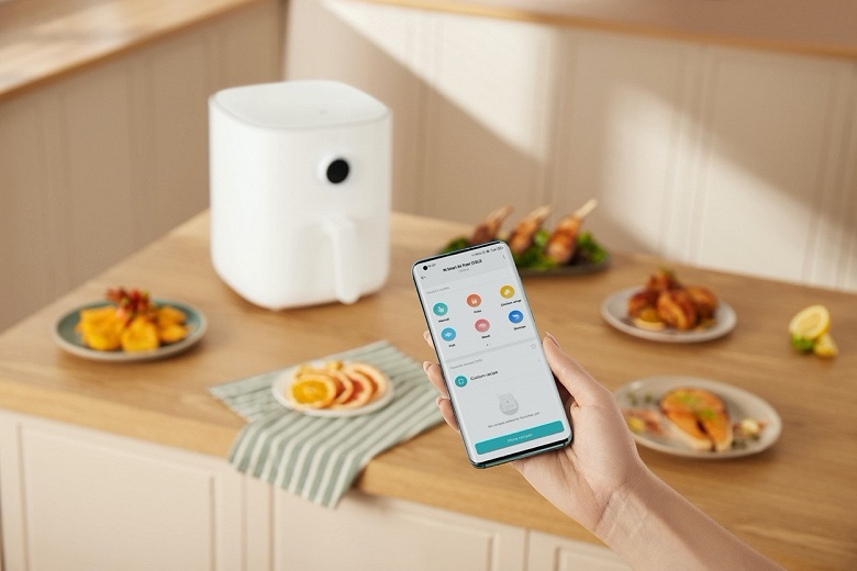 Xiaomi представила умную фритюрницу в Европе