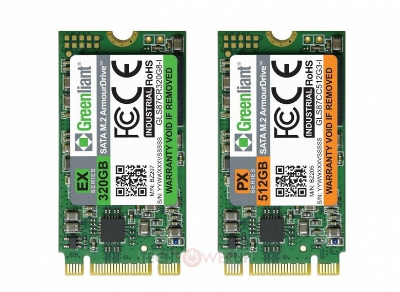 Greenliant начинает отгрузку образцов высоконадежных промышленных SSD типоразмера M.2