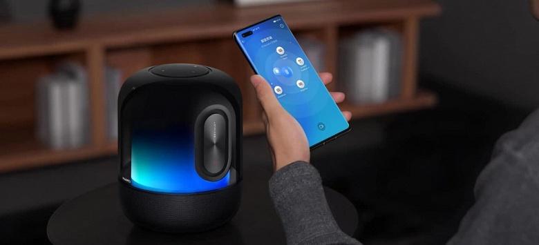 Представлена Huawei Sound X 2021 — первая колонка на базе HarmonyOS 2.0