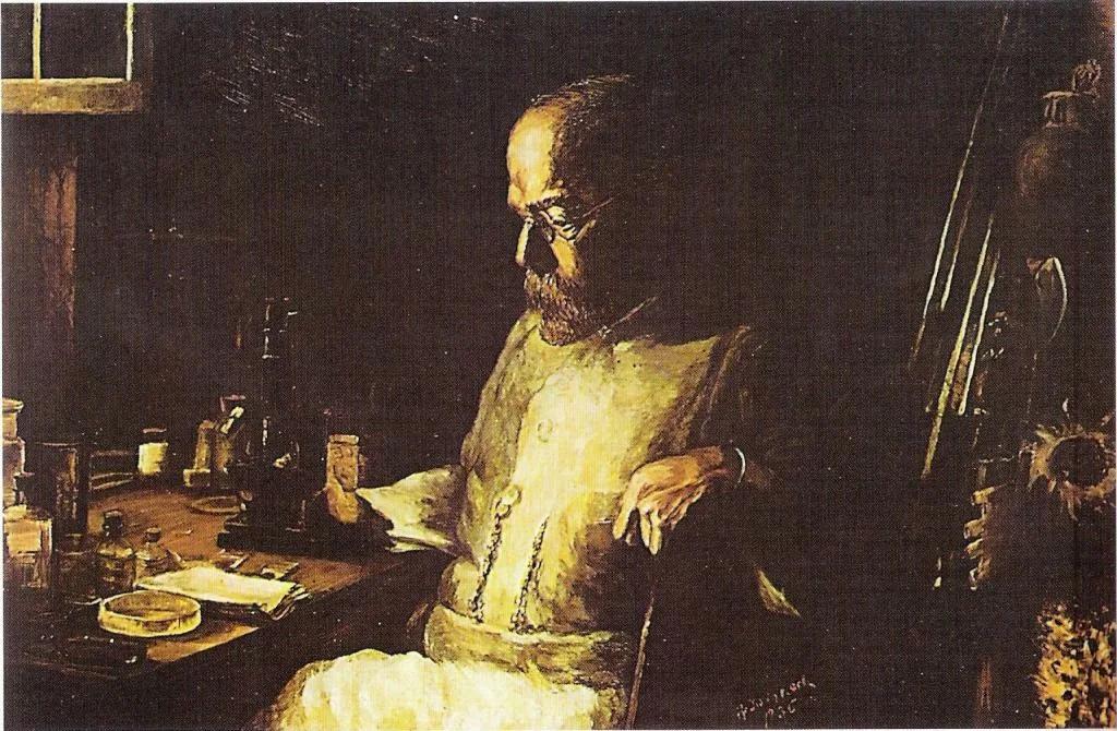 Роберт Кох. Кроме вибриона холеры он открыл бациллы сибирской язвы и туберкулеза, те самые палочки Коха