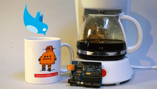 Tweet-a-pot, или Как я через Twitter кофе варил - 1