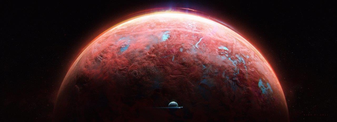 """На КПВД картина """"Planets"""" Alexa Pi"""