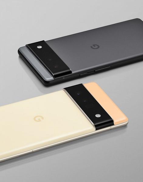 Это Pixel 6 и Pixel 6 Pro. Google официально рассекретила дизайн и часть характеристик смартфонов