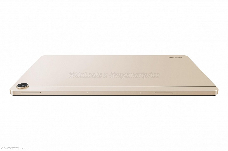 Опубликованы качественные пресс-рендеры Realme Pad — первого планшета компании