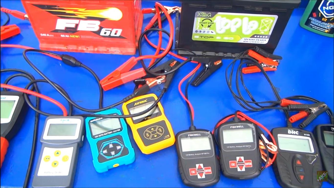 Тестируем восемь аккумуляторных тестеров - 1