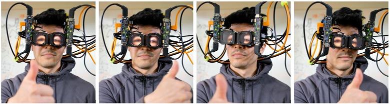 Специалисты Facebook разработали прототип гарнитуры VR со «сквозной обратной связью»