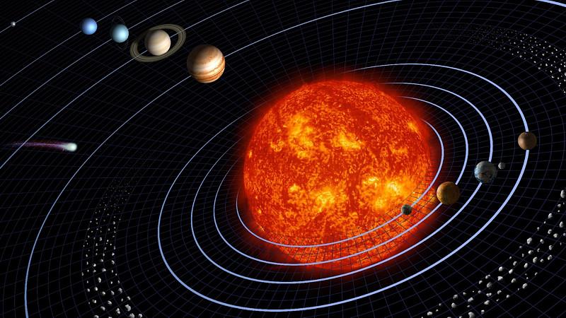 Солнечная система. Статья по астрономии. Андрей Климковский