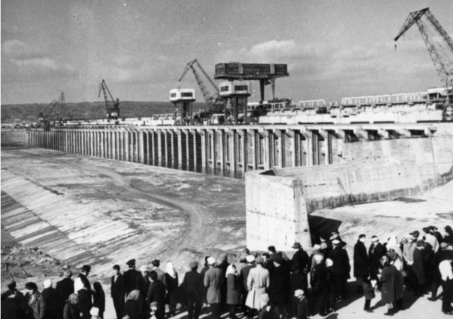 Строительство ГЭС