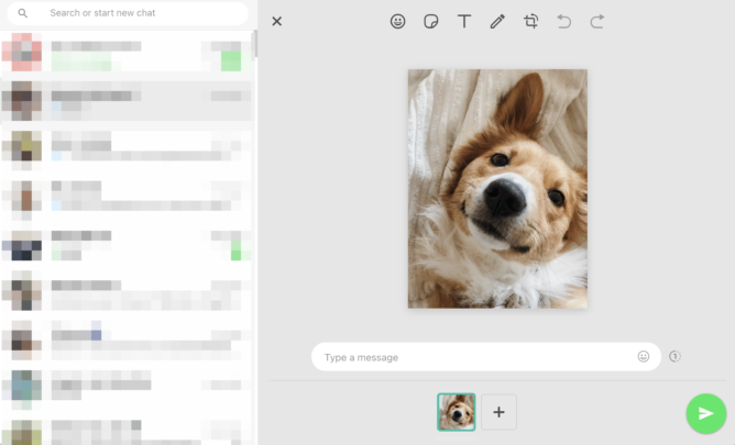 Браузерный WhatsApp получил функцию, которая была на Android уже 5 лет. Появились инструменты редактирования изображений