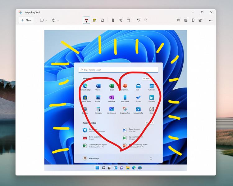 Свежая версия Windows 11 принесла новые «Ножницы», «Калькулятор» и «Почту»