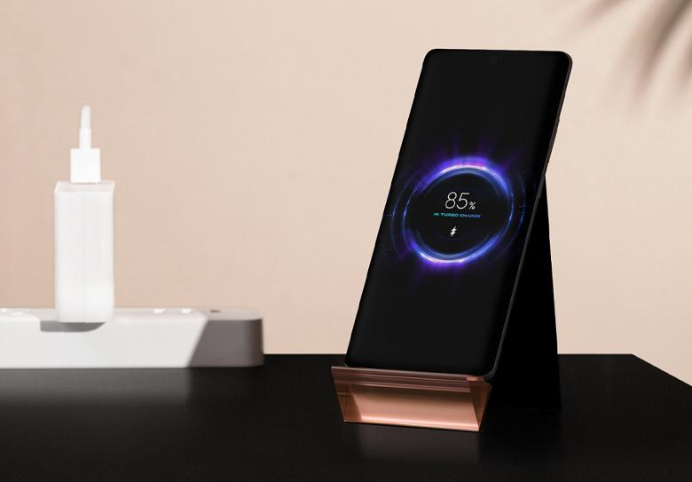 Xiaomi выпустила вертикальную беспроводную зарядку на 100 Вт с вентилятором