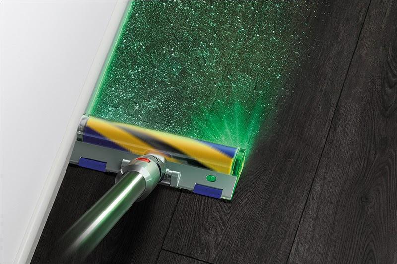 Лазер на службе порядка: новые пылесосы Dyson - 1