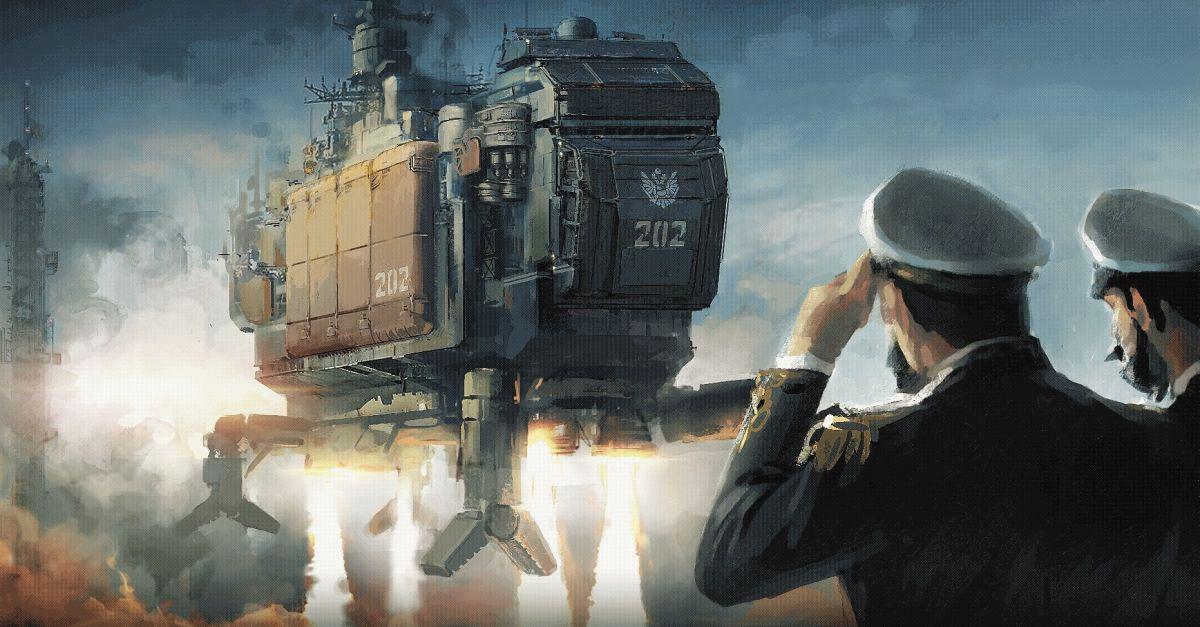 HighFleet: игра про битвы небесных кораблей - 1