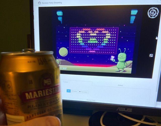 Использование Amiga в 2021: создание интро для демопати - 17