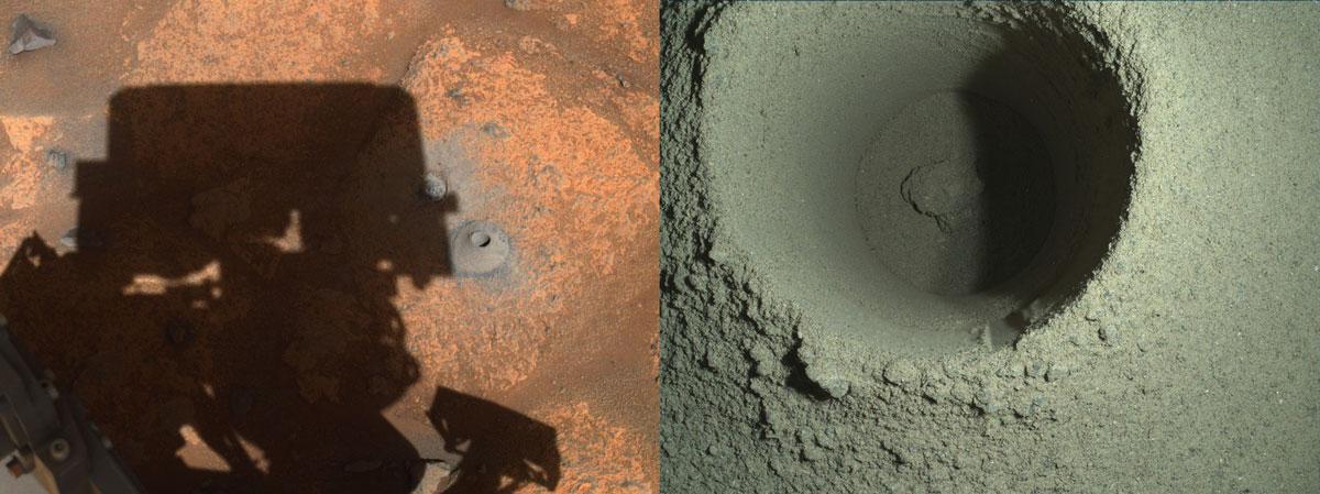 Как песок сквозь пальцы: НАСА удалось объяснить неудачную попытку Perseverance взять первую пробу грунта Марса - 1
