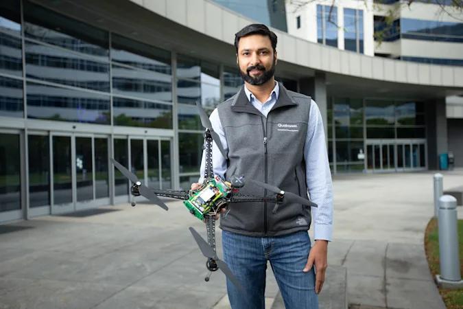 Qualcomm представила первый в мире эталонный дрон с поддержкой 5G и системой ИИ