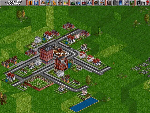 Оригинальный Transport Tycoon