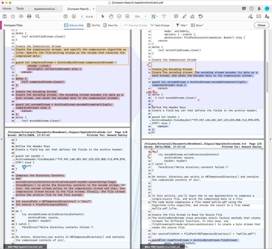 Как сравнить два PDF-документа - 3