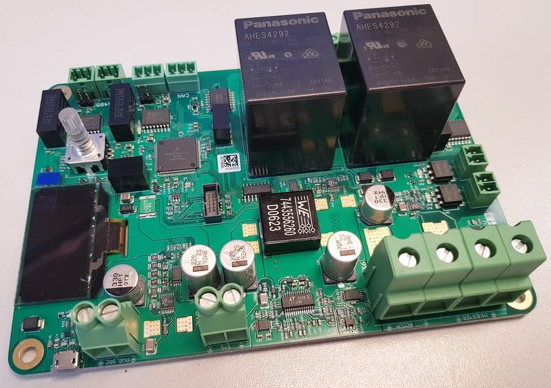 Разработка контроллера резервного питания. Установка ОСРВ - 1