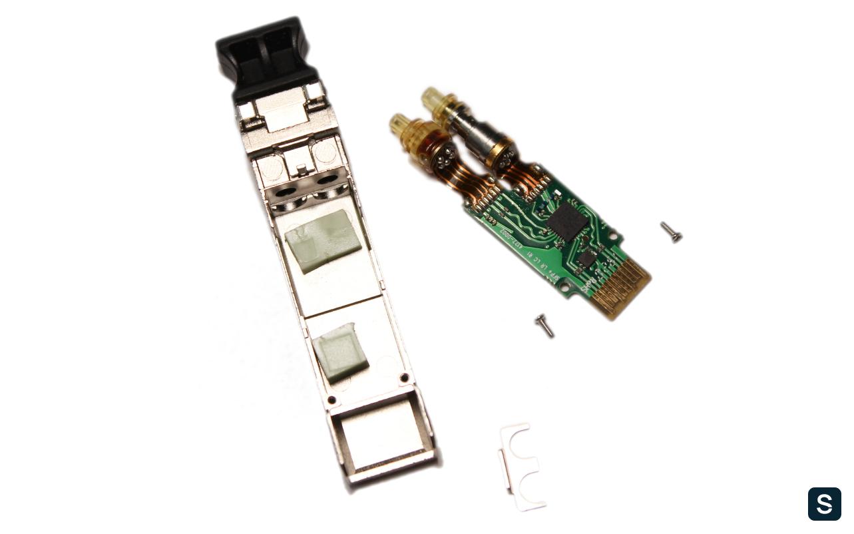 Диагностика и перепрошивка оптических трансиверов - 2