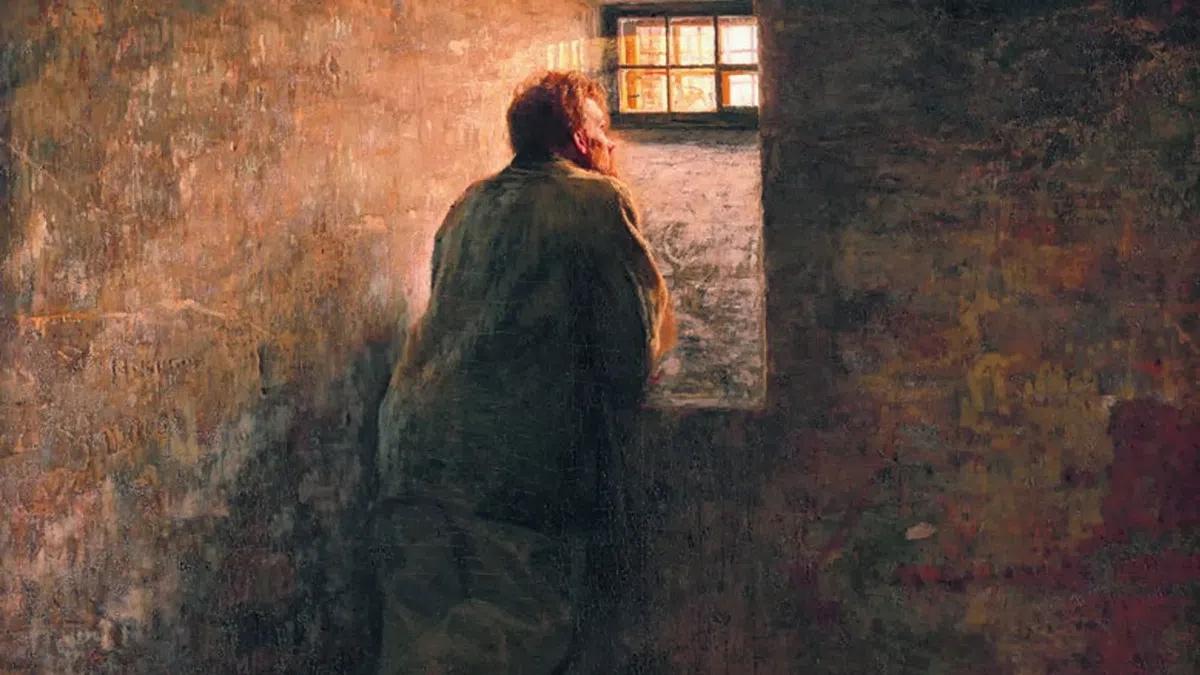 Николай Ярошенко. «Заключенный». 1878. Холст, масло