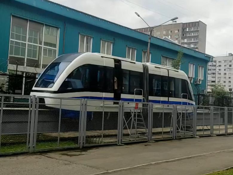 В России начали испытания маглев-поезда