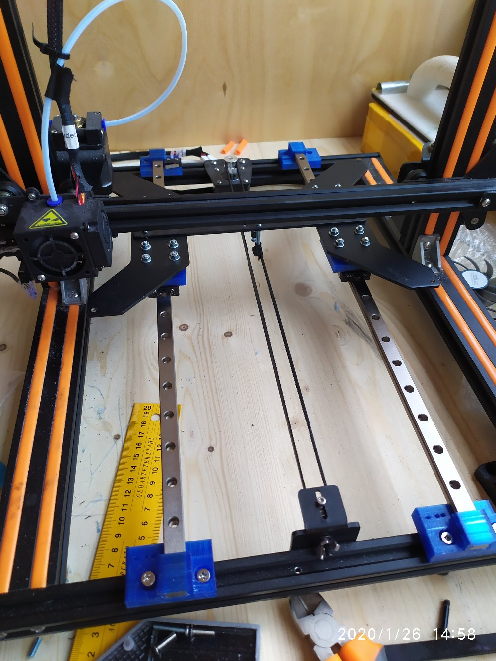 Каждому 3D принтеру — по рельсам - 1