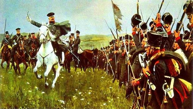 """Фельдмаршал Гебхард Блюхер, человек боя, человек-война, """"черный генерал"""" и """"генерал вперед!"""", военачальник, восстановивший славу прусской армии."""