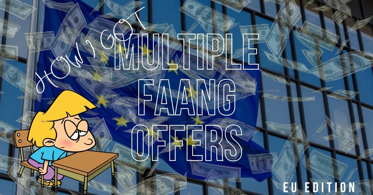 Как я получил 4 оффера в FAANG в Европе или из Воронежа в Лондон - 1