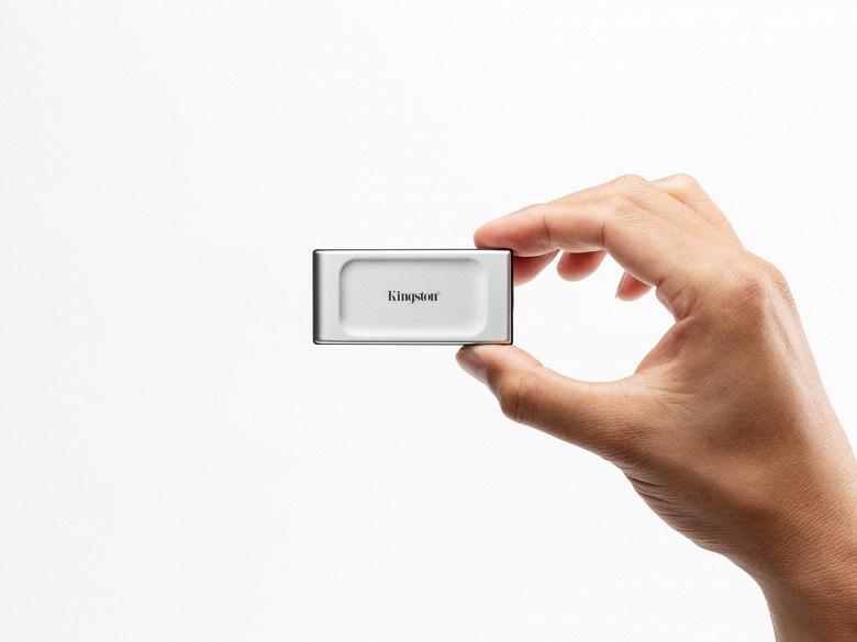 Kingston выпустила крошечный карманный SSD XS2000 ёмкостью 2 ТБ
