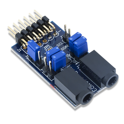 Pmod AMP3: Stereo Power Amplifier