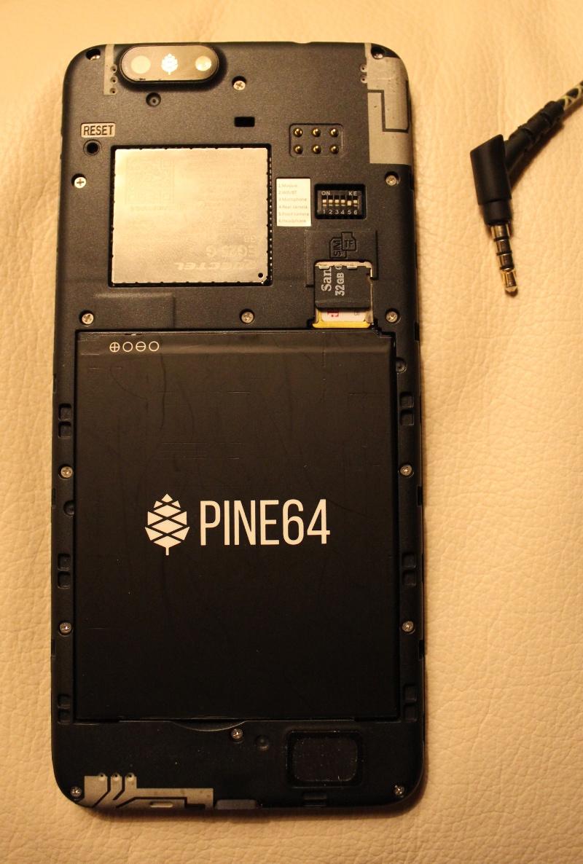 Опыт работы со смартфоном PinePhone: модульный телефон без сервисов Google - 3