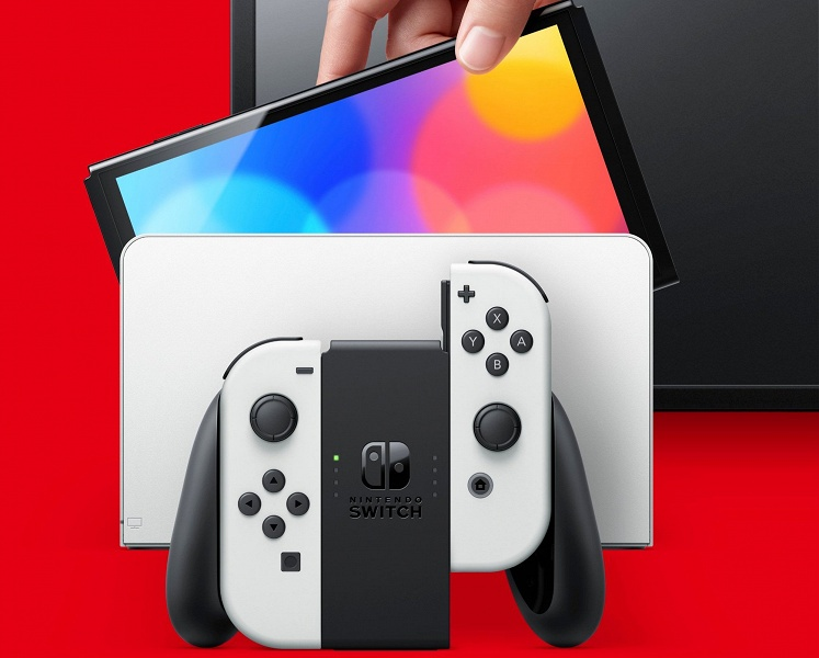 Российский выпуск Nintendo Switch OLED отложен