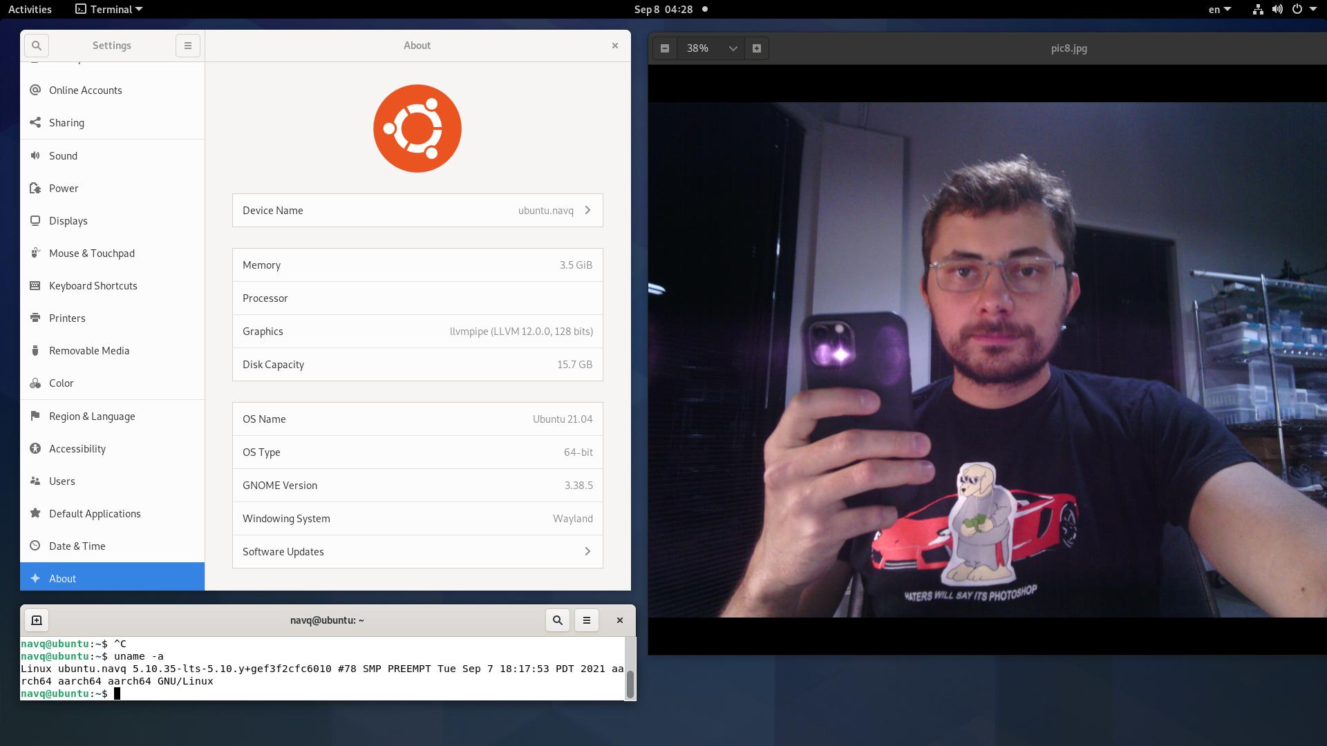 Да, Ubuntu была поднята практически сразу. Но расскажу я об этом далее.
