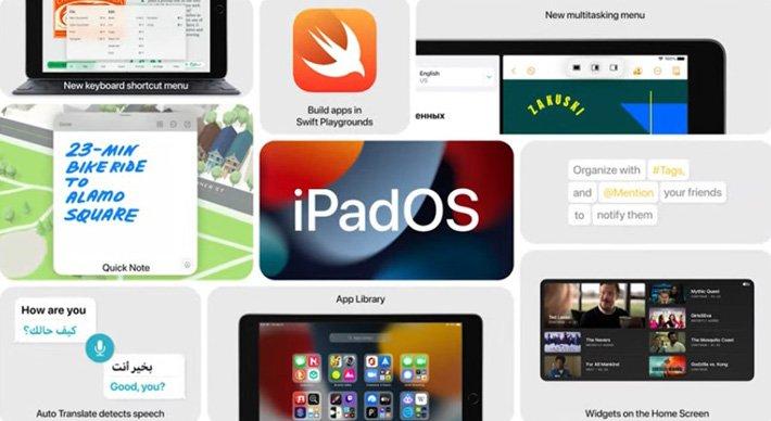 Apple представила новый iPad за 330 долларов. Он получил платформу A13 Bionic, iPadOS 15 и новую 12-мегапиксельную фронтальную камеру