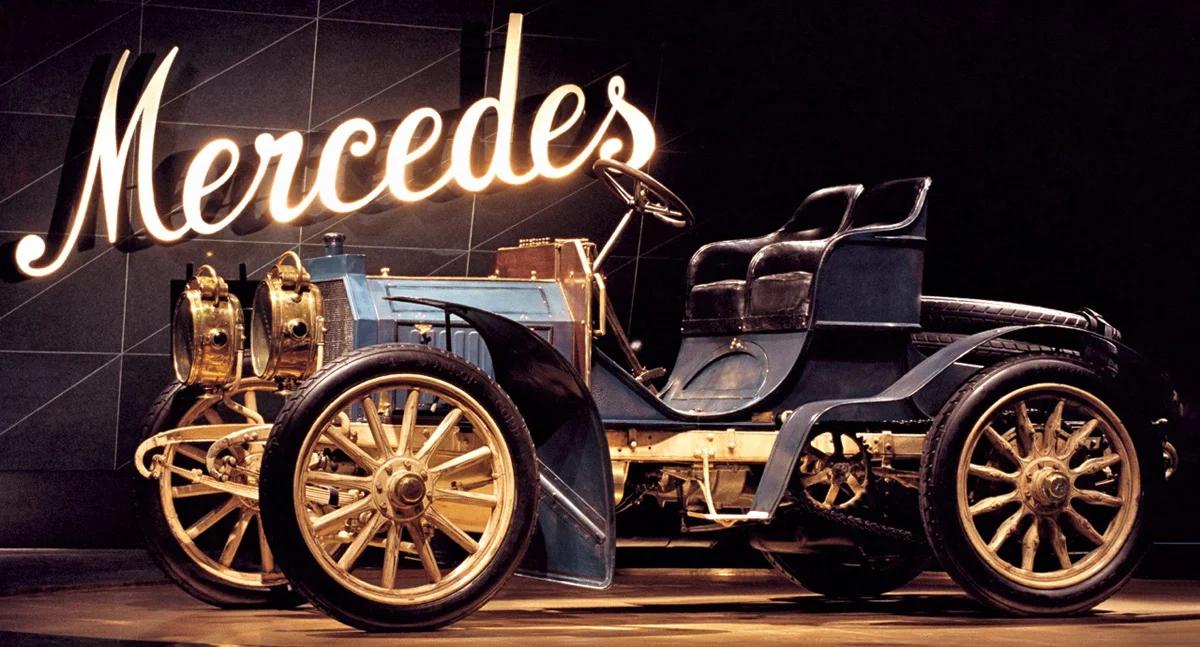 """Первый автомобиль, получивший, с легкой руки Еллинека, имя """"Мерседес"""""""